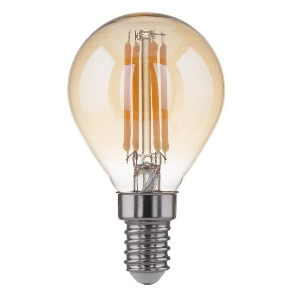 Лампа светодиодная Classic F 6W 3300K E14 ретро
