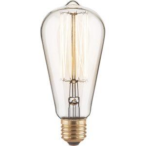 Ретро лампа Эдисона ST64 60W