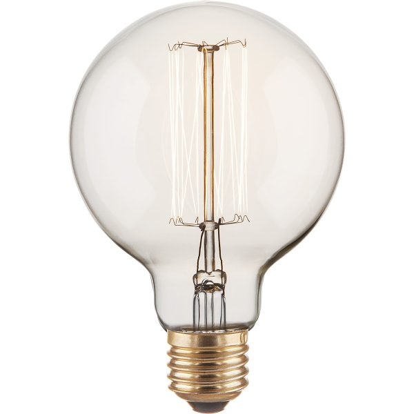 лампа Эдисона шар 6о вт G95