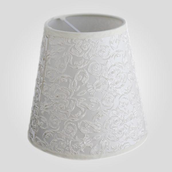 Абажур 10307 жемчужно-белый