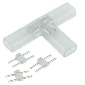 Аксессуары для светодиодной ленты Elektrostandard Переходник для ленты Т образный 220V 3528