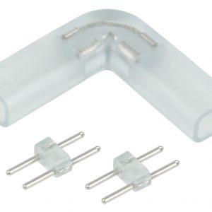 Аксессуары для светодиодной ленты Elektrostandard Переходник для ленты угловой 220V 3528