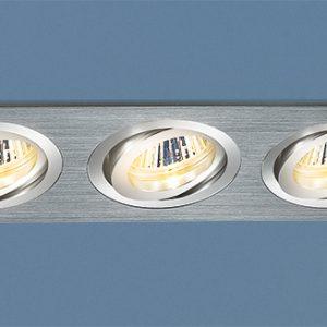 Алюминиевый точечный светильник Elektrostandard 1011/3 MR16 CH хром