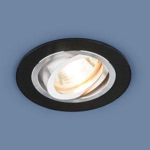 Алюминиевый точечный светильник Elektrostandard 1061/1 MR16 BK черный