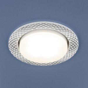 Алюминиевый точечный светильник Elektrostandard 1071 GX53 WH белый