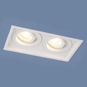 Алюминиевый точечный светильник Elektrostandard 1071/2 MR16 WH белый