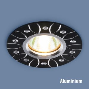 Алюминиевый точечный светильник Elektrostandard 2007 MR16 BK черный