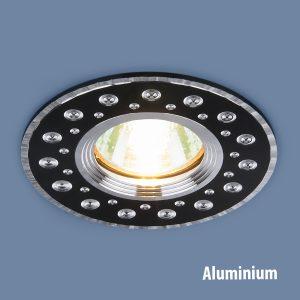Алюминиевый точечный светильник Elektrostandard 2008 MR16 BK черный