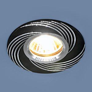 Алюминиевый точечный светильник Elektrostandard 5156 MR16 BK черный