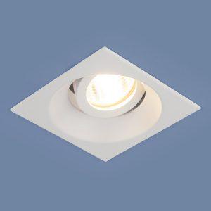 Алюминиевый точечный светильник Elektrostandard 6069 MR16 WH белый