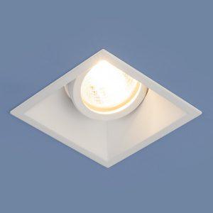 Алюминиевый точечный светильник Elektrostandard 6070 MR16 WH белый