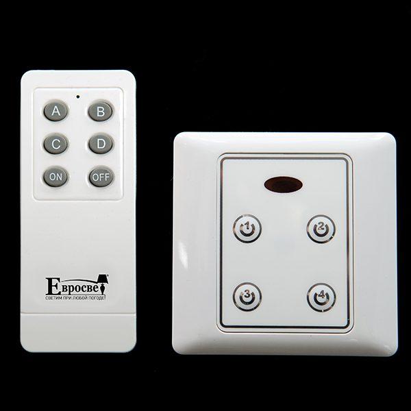 Блок управления с пультом 99999 Комплект блоков управления с пультом (10 блоков + 1 пульт) белый 2016