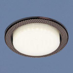 Встраиваемый точечный светильник Elektrostandard 1066 GX53 SB бронза