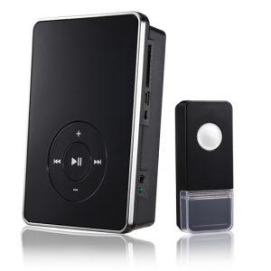 Звонок беспроводной Elektrostandard DBQ09M WL MP3 16M IP44 Черный