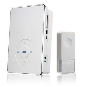 Звонок беспроводной Elektrostandard DBQ10M WL MP3 16M IP44 Белый