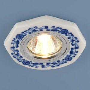 Керамический светильник Elektrostandard 9033 WH/BL керамика бело-голубой