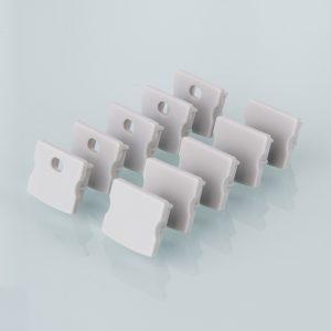 Комплект заглушек для накладного алюминиевого профиля для светодиодной ленты (10 пар) Elektrostandard ZLL-2-ALP001-R