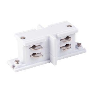 Коннектор прямой внутренний для трехфазного шинопровода Elektrostandard TRC-1-3-II-WH белый