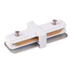 Коннектор прямой для однофазного шинопровода Elektrostandard TRC-1-1-I-WH белый