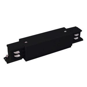 Коннектор прямой для трехфазного шинопровода Elektrostandard TRC-1-3-I-BK черный