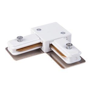 Коннектор угловой для однофазного шинопровода Elektrostandard TRC-1-1-L-WH белый