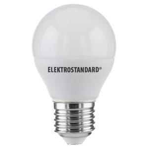 Лампа светодиодная Elektrostandard Mini Classic LED 7W 6500K E27 матовое стекло