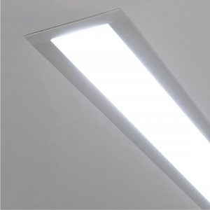 Линейный светодиодный встраиваемый светильник Elektrostandard LS-03-103-16-6500-MS без заглушки