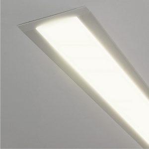 Линейный светодиодный встраиваемый светильник Elektrostandard LS-03-128-21-4200-MS без заглушки
