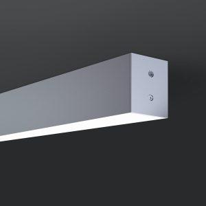 Линейный светодиодный подвесной двусторонний светильник Elektrostandard LS-01-2-128-35-6500-MS