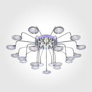 Люстра потолочная со светодиодной подсветкой 80109/21 хром