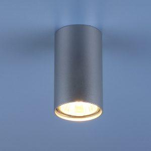 Накладной точечный светильник Elektrostandard 1081 (5257) GU10 SL серебряный