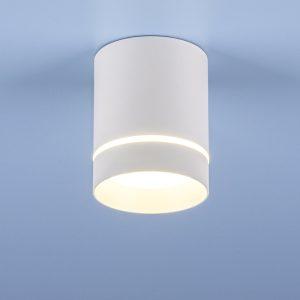 Накладной точечный светильник Elektrostandard DLR021 9W 4200K белый матовый