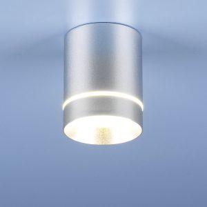 Накладной точечный светильник Elektrostandard DLR021 9W 4200K хром матовый