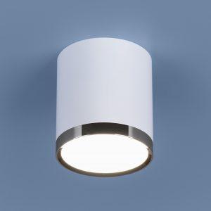 Накладной точечный светильник Elektrostandard DLR024 6W 4200K белый матовый