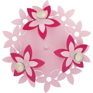 Настенно-потолочный светильник 6895 Flowers Pink III