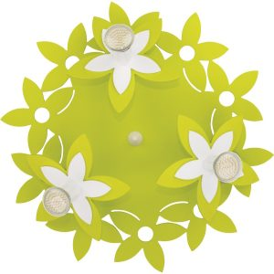Настенно-потолочный светильник 6900 Flowers Green III