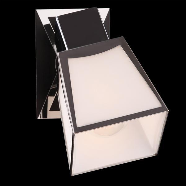 Настенный светильник 57021/1 хром/венге