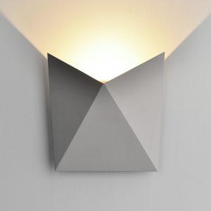 Настенный светильник Elektrostandard 1517 Techno LED Butterfly серый