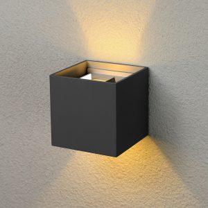Настенный светильник Elektrostandard 1548 Techno LED Winner черный