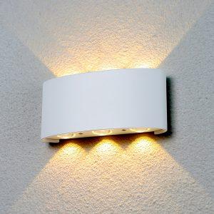 Настенный светильник Elektrostandard 1551 Techno LED Twinky Trio белый