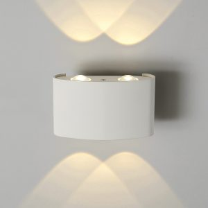 Настенный светильник Elektrostandard 1555 Techno LED Twinky Double белый