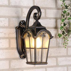 Настенный светильник Elektrostandard Mira D черное золото