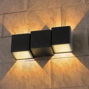 Настенный светильник Elektrostandard Techno 1694 LED Triton черный