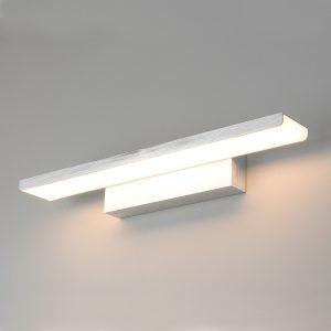 Настенный светодиодный светильник Elektrostandard Sankara LED 16W IP20 серебряный