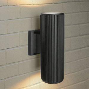 Настенный уличный светильник Elektrostandard Techno 1403 черный