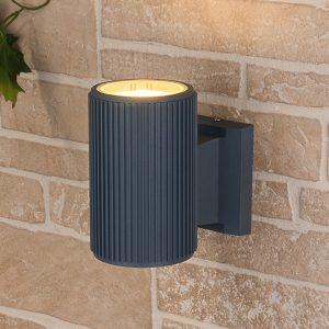 Настенный уличный светильник Elektrostandard Techno 1404 cерый
