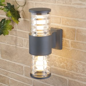 Настенный уличный светильник Elektrostandard Techno 1407 cерый