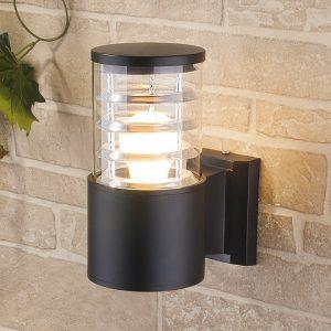 Настенный уличный светильник Elektrostandard Techno 1408 черный