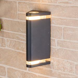 Настенный уличный светильник Elektrostandard Techno 1484 черный