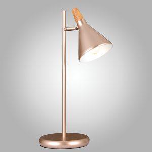 Настольная лампа 01012/1 перламутровое золото